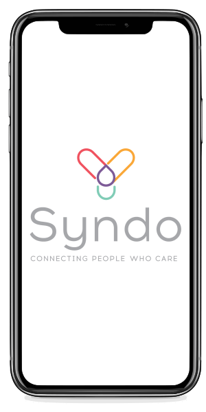 Iphone X with the Syndo Health app